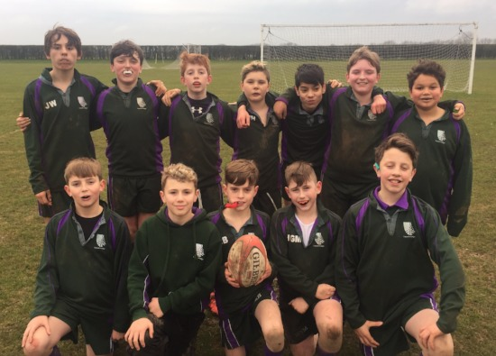 First rugby win for Croxley Danes boys