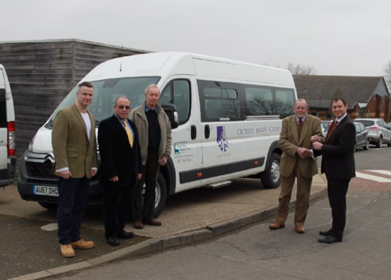 Keys to new minibus handed over