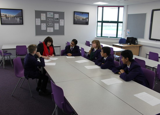Students help select new Deputy Head for the school