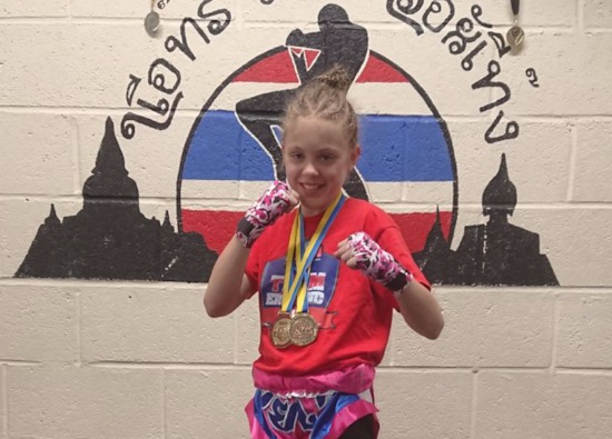 Ellie takes gold at World Championships