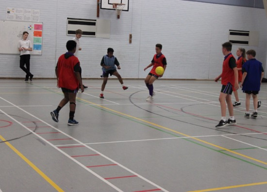 Sports Leaders run after school 5 a side competition