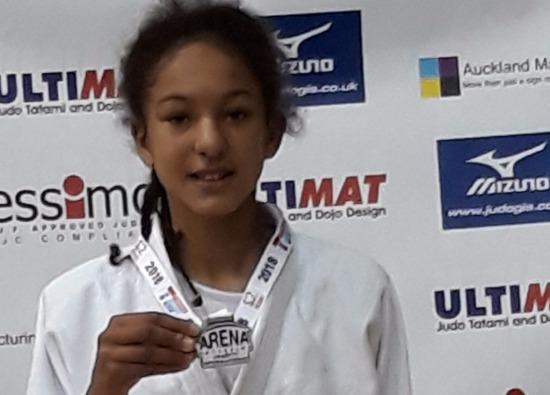 Nevaeh Wins Gold in International Judo Competition