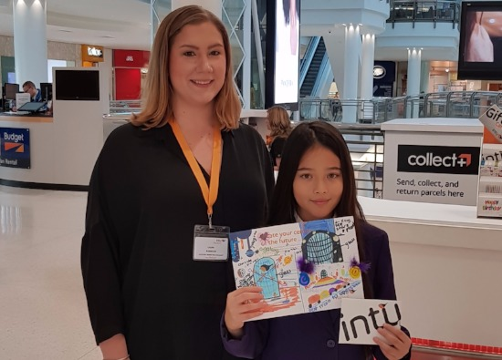 Kiana Wins Top Prize in Intu Competition