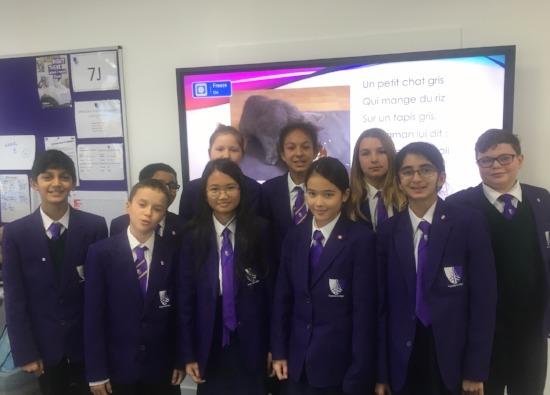 Year 7 French Fluency Competition Winners Announced
