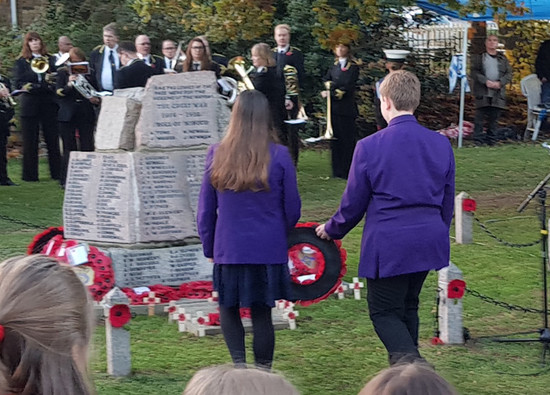Croxley Green Remembrance Parade - 11th November 2018