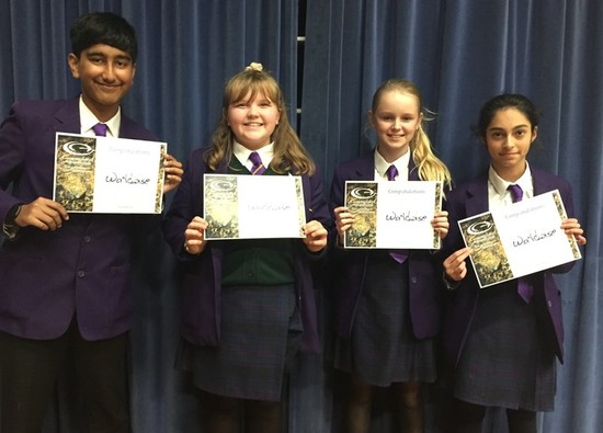 Y8 take part in Geography Competition