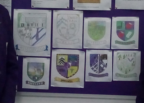House Coat of Arms Competition Winners