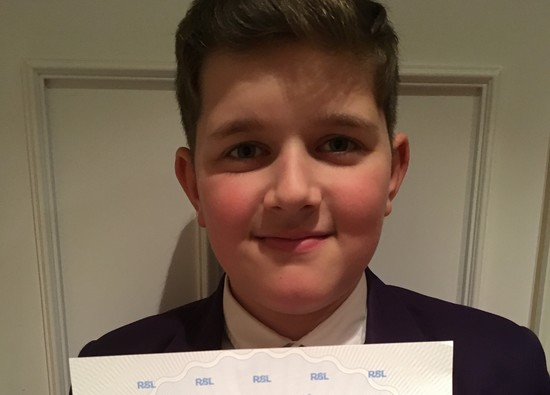 William Achieves Grade 5 Drum Success