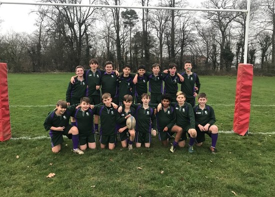 Superb Victory for Year 8 Rugby Team
