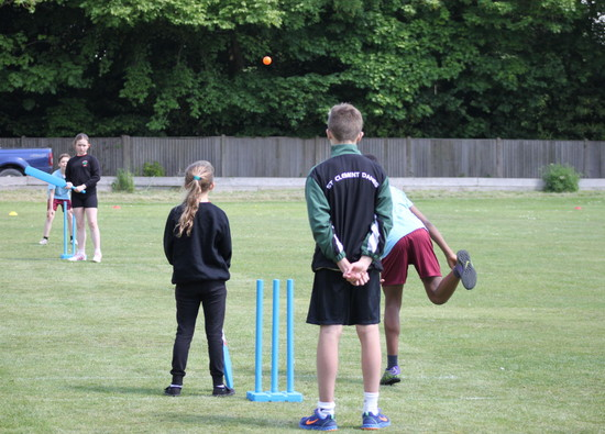 St Clement Danes Year 9s host Kwik Cricket Festival