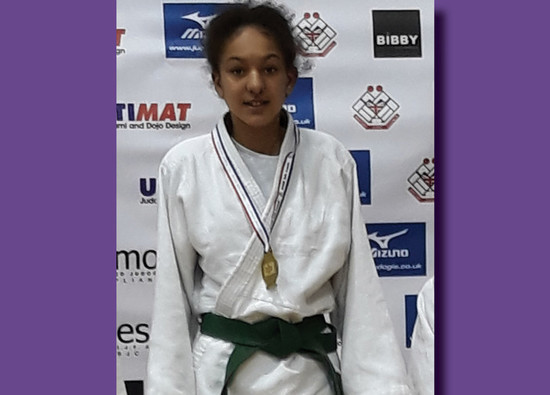 Nevaeh British Champion!