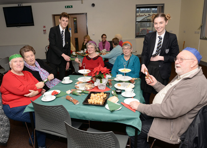 Senior Citizens Christmas Afternoon Tea