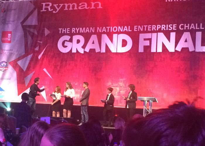 Year 9 students take part in Ryman Enterprise Challenge