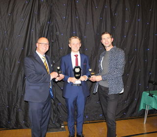 Ben receives three awards