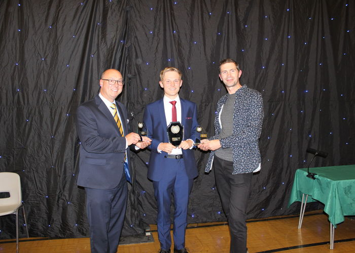 Awards ceremony for year 11 and year 13 leavers