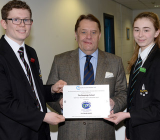 John hayes mp with katie and sam