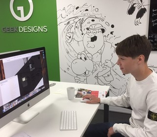 Thomas at Geek Designs