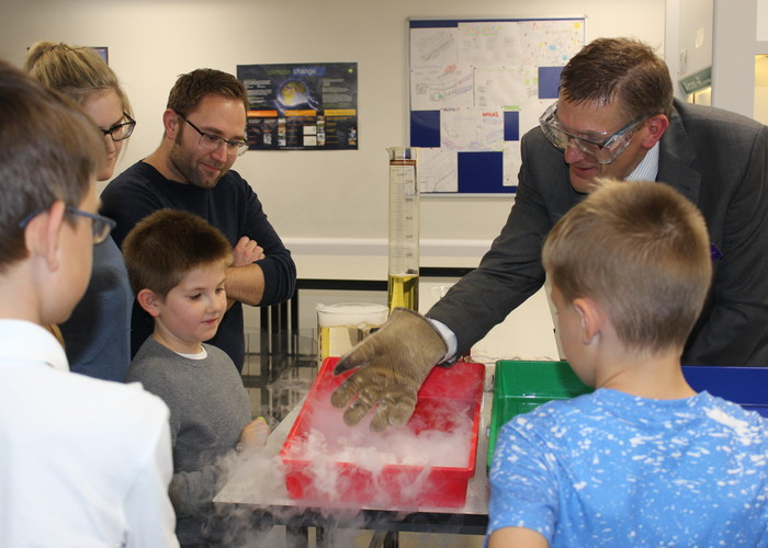 Very Successful Open Evening at The Deepings School