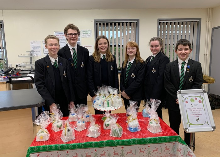 Christmas afternoon tea for local senior citizens