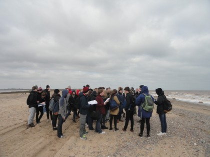 Year 12 Geography Field trip – Hull and the Holderness Coast