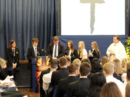 Yr 11 Leavers Mass