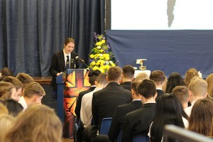 Yr 11 leavers mass 2016 11