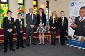 Nicky morgan visits delisle 9