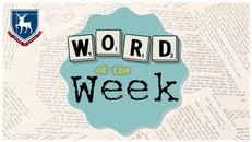Word of the week 14th nov