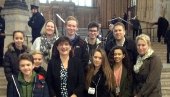 Student Council Parliament Visit