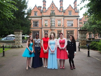 Year 11 Prom Beaumanor Hall 2017