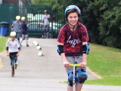 Enrichment Week 2017 - Skateboards and Scooters