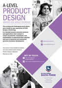 Product design sixth form flyer