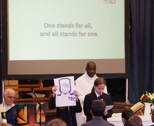 Y7 welcome mass 8