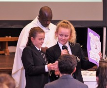 Y7 welcome mass 9