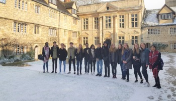 Visit to University of Oxford