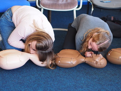 CPR Training - SADS Week 2018
