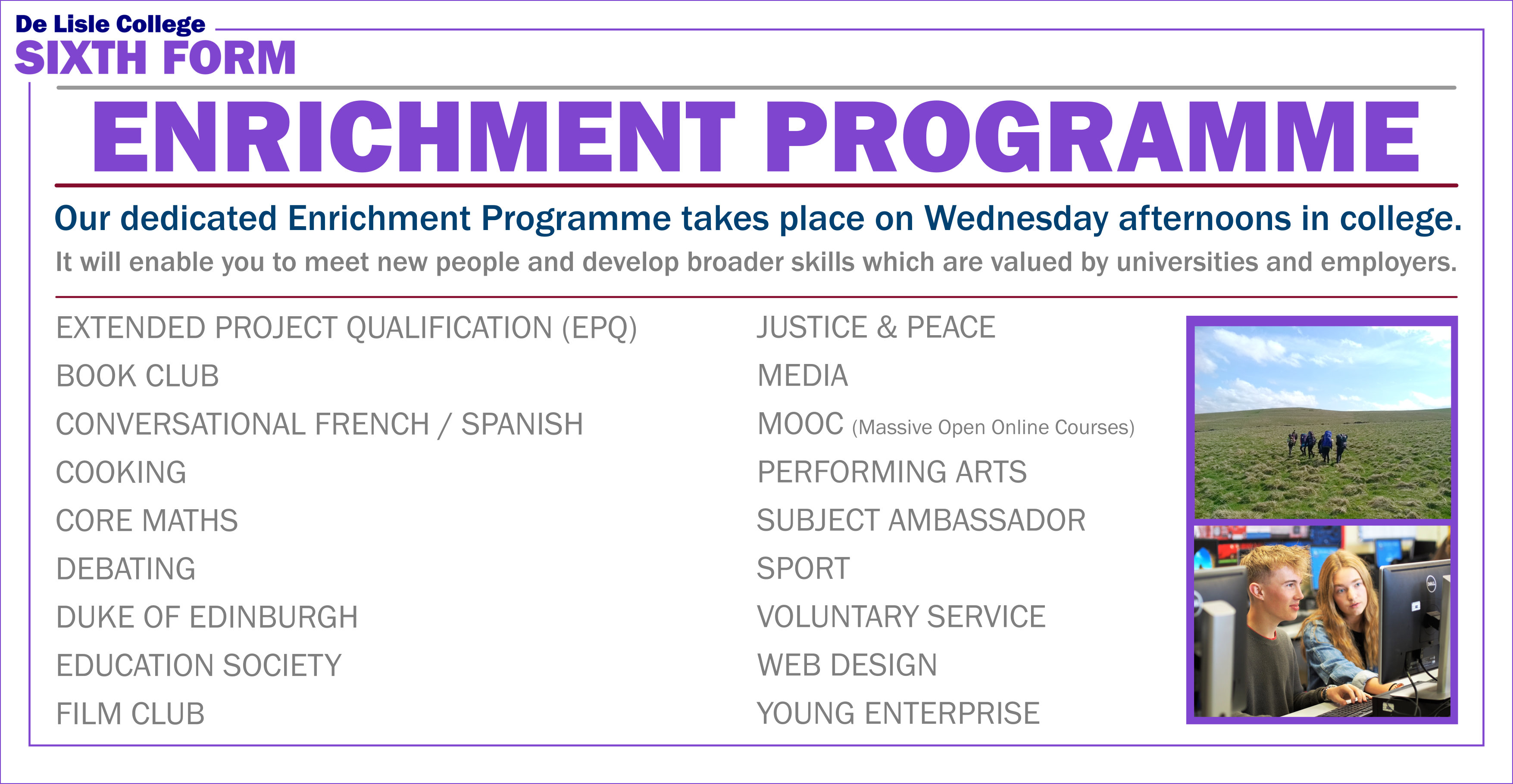 Enrichment Website