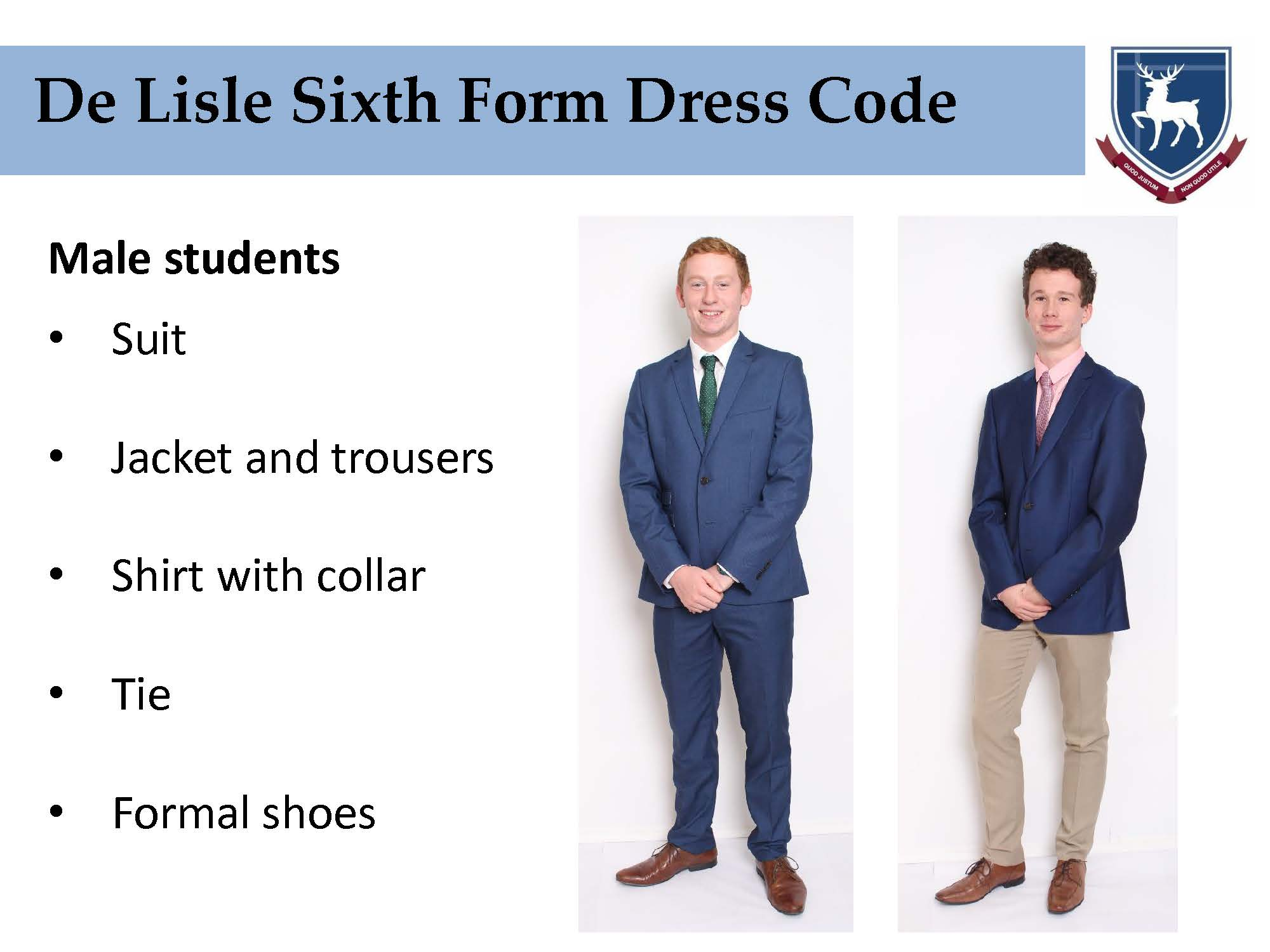 Sixth Form Dress Code brief Page 06