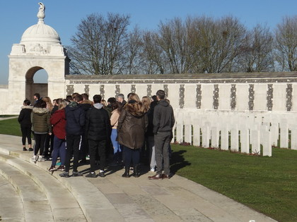 Belgium Battlefields Trip Feb 2019
