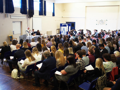 Year 13 Leavers' Mass