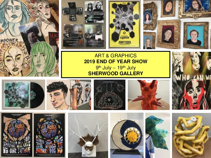 End of year show 2019