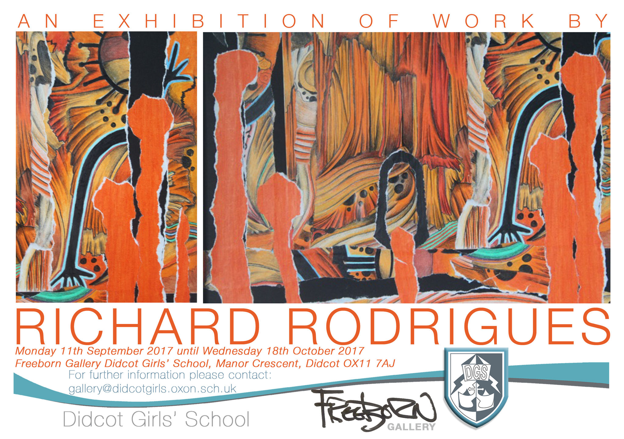 Richard Rodrigues poster front