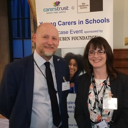 DGSB Visits House of Commons on behalf of Young Carers