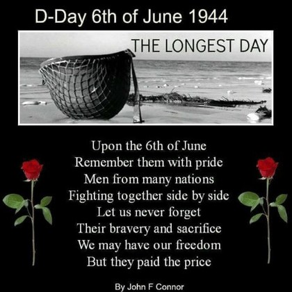 75 Years on DGSB Remembers 'D' Day .