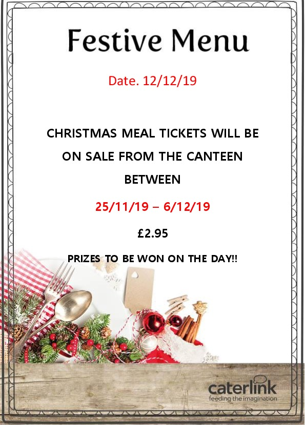 XMAS TICKET SALES 2019