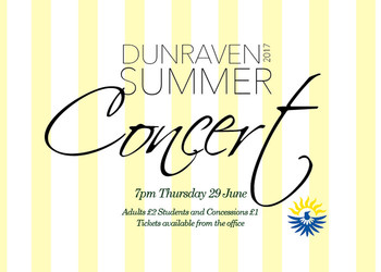 Summer Concert tickets available now!
