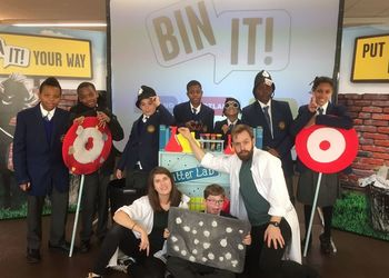 Bin It Roadshow comes to Dunraven!