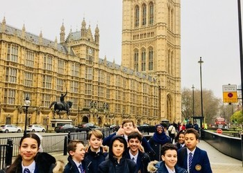 Year 8 History visit to the Houses of Parliament