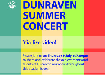 Summer Concert 2020 live via video!
