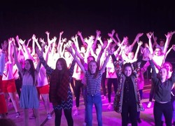 Students perform after 5 months rehearsing